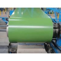 China Colour Coated Galvalume Steel Sheet Lotus Green Color Commercial Sheet Metal Coil on sale