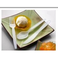 China Customized Individually Wrapped Plastic Flatware For Party FDA Approval wholesale