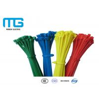 China Colorful Self-Locking Nylon Cable Ties With CE, UL Certification wholesale