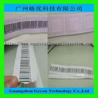 China Supermarket Alarm 8.2MHz RF Soft Label , 41 x 35mm EAS Sticker Tag wholesale