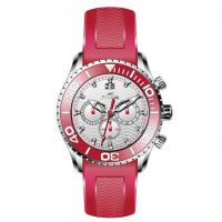Buy cheap Men's Multifunction Silicone Strap Watches Stainless Steel Case Wrist Watch from wholesalers