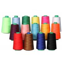 China High Tenacity Spun Polyester Sewing Thread , Multi Colored Threads For Sewing wholesale