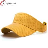 China Athletic Mesh Sports Tennis Sun Visors with Pure Polyester Mesh wholesale