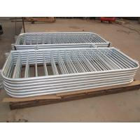 China Portable Fence Panels 1090mm X 2500mm for Europe Market Hot Dipped Galvanized Crowd Control Barrier wholesale