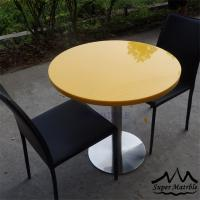 Artificial stone tables funky restaurant furniture of for Funky cafe furniture