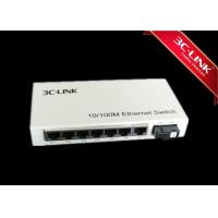 Plug And Play Fast Ethernet Media Converter , Fiber Optic Ethernet Switch Flow Control Capabilities with 7-switched RJ45