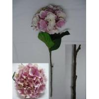 China New Arrival: Silk Hydrangea, Cream&Pink. wholesale