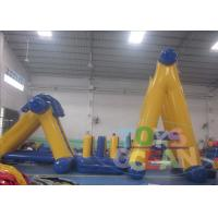 China Commercial Outdoor Inflatable Water Parks / Inflatable Paintball Bunker For Kids wholesale