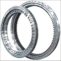 China Electricity Equipment Single Row Slew Ring Bearings Four Point Contact Ball External Gear wholesale