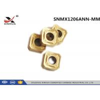 China CNC Lathe Carbide Milling Inserts SNMX1206ANN - MM For Cast Iron K10 - K20 wholesale