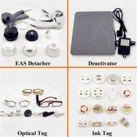Quality Small Square EAS Hard Tag With Digital Global Standard Magnetic 8.2MHz Frequency for sale