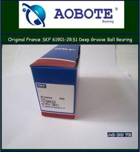 China Deep Groove Ball Bearing Single Row ,Sweden SKF 61901-2RS1 wholesale