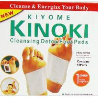 China Hot Sale Kinoki Effective Detox Foot Patches Kinoki Detox Patch 10PCS/Box Packing and Manufacturer Price Real Quality on sale