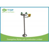 China PVOC Stainless Steel Emergency Shower And Eyewash Station For Chemical Industry on sale