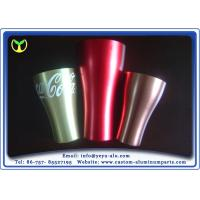 China Recycle Anodized Aluminum Extrusions 6000 Grade Alloy Cup For Coca Cola wholesale