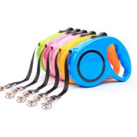 China Dog Leashes Automatic Extending Nylon Walking Dog Lead Leash for Small Medium Dogs Accessories 3M 5M Pet Products wholesale
