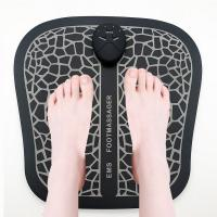China Rechargeable Foot Circulation Massager , Ems Foot Massage Pad 6 Mode 10 Intensity wholesale