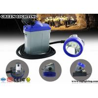 China Explosion Proof Wired Electric Miners Lamp , 15000 Lux IP67 LED Mining Lamp  wholesale