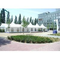 Quality 10m * 20m Hot Sale Aluminium Frame Large Wedding Marquee Mixed Tents With Luxury White Color And Linings Curtain for sale