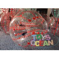 China Sport Game Inflatable Bumper Ball Human Hamster Ball Bubble Outdoor Entertainment wholesale