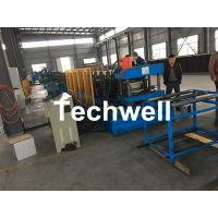 China Hydraulic Pre - Punching Ladder Cable Tray Making Machine 0-15m/min wholesale
