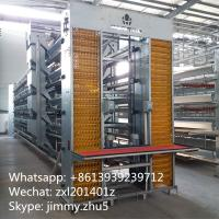 China Automatic Poultry Farming Equipments Galvanized H Type Laying Hens Battery Chicken Coop For Sale wholesale