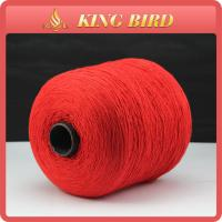 China Red Closing Bags Spun Polyester Sewing Thread / Industrial Sewing Thread wholesale