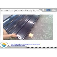 China 3003 Aluminum Magnesium Corrugated Aluminum Ridge Tile Metal Roofing Sheet wholesale