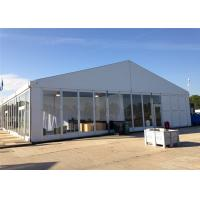 China High Standard 18m By 30m Advertised Custom Event Tents With ABS Glass Wall wholesale