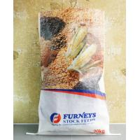 China Transparent BOPP PP Woven Feed Bags , Laminated Woven Polypropylene Bags wholesale