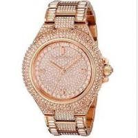Michael Kors MK5862 MK5869 MK5720 Camille Crysta Pave Quartz Stainless Rose Gold