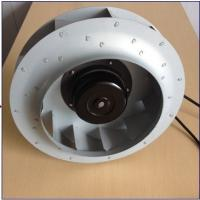 China Aluminum Die Cast Ec Centrifugal Exhaust Fan Blower Backward Curved 280*50 mm wholesale