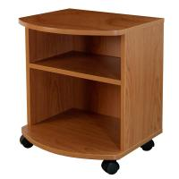 China Movable Bedroom Night Stands Particle Board , Contemporary Bedside Tables For Tighter Spaces wholesale
