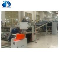 China Energy Saving TPE Sheet Extrusion Line With Spiral Feeding 200~380kg/H wholesale