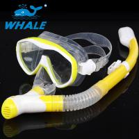 Buy cheap Easy Breathing Snorkel Mask Set Silicone Mask Skirt With Safety Water Repellent from wholesalers