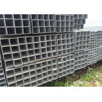 China Project Material Square Steel Pipe with grade Q235 Hot Rolled Black Iron wholesale