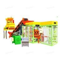 Buy cheap QTJ4 -15 Hydraulic Automatic Cement Brick Making Machine With Long Life from wholesalers