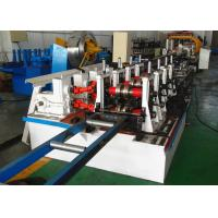China Box Rack Roll Forming Machine Gear Box Driven Type With Seaming Lock Machine wholesale