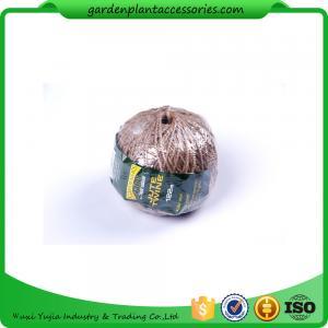 China Reuseable Garden Twist Ties / Flexible Garden Tie 100m Length wholesale