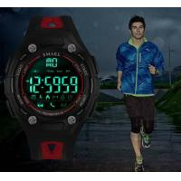 Quality SMAEL Bluetooth 3d Pedometer Calorie Remote Camera Smart Sport Watches for for sale