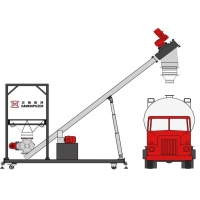 China Huge Discharge Capacity SS304 Bulk Truck Unloading System wholesale