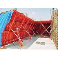 China Professional Red Color Tunnel Formwork System Reusable OEM / ODM Available wholesale