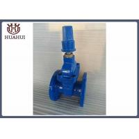 China Resilient seated gate valve with brass gland double flange nut operation wholesale