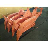 China Seven Tooth Rotate Wood Grapple / Timber Grapple for Hitachi EX230 Excavator wholesale