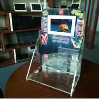 Quality 7 inch HD LCD acrylic counter display for sale