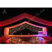 Luxury Marquees For Weddings Decorated with Noble and Gorgeous Linings and for sale
