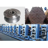 0.01 - 0.03 Mm Tolerance Tube Mill Rolls Making Construction Pipe