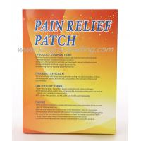 China Medical Pain Relief Hot Patch Relieving Muscle Pain 10cm X 14cm Hot Sale China on sale