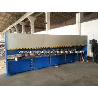 China Manual Roll Grooving Machine Sheet Metal Shear H4C Control System wholesale
