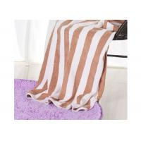 Buy cheap Hotel 100% Cotton Beach Towels , Rectangle Cotton Terry Towel Water Soluble from wholesalers